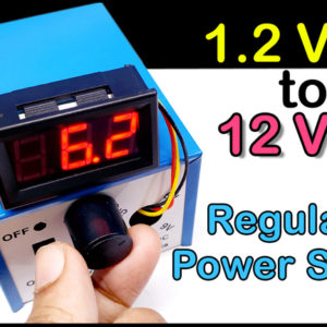 How to make mini regulated power supply
