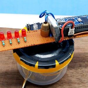 How to make arduino pov display with arduino nano