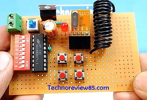 Rf remote circuit