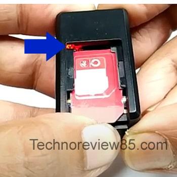 GF-07 GPS tracker sim card